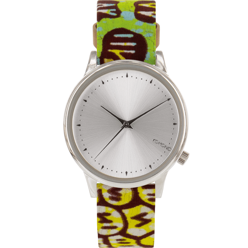 Komono x Vlisco Estelle Watch | Silver