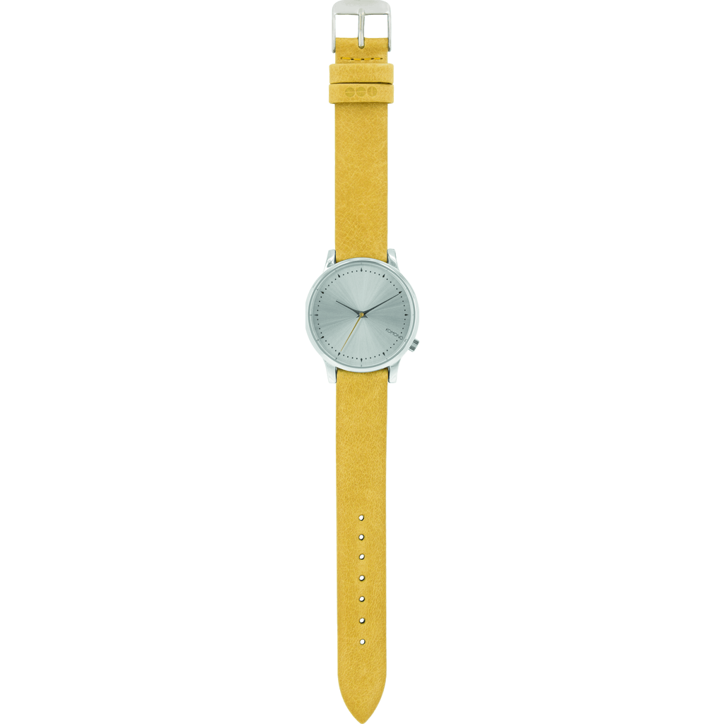Komono Estelle Watch | Lime Flower