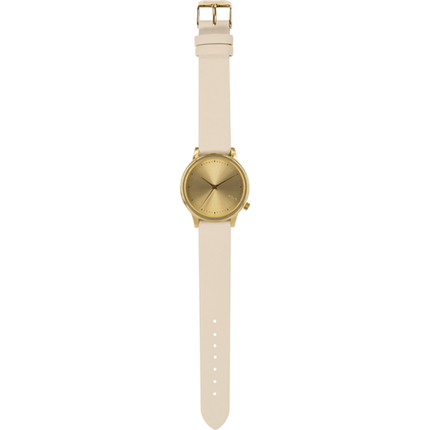 Komono Estelle Pastel Watch | Cream KOM-W2502