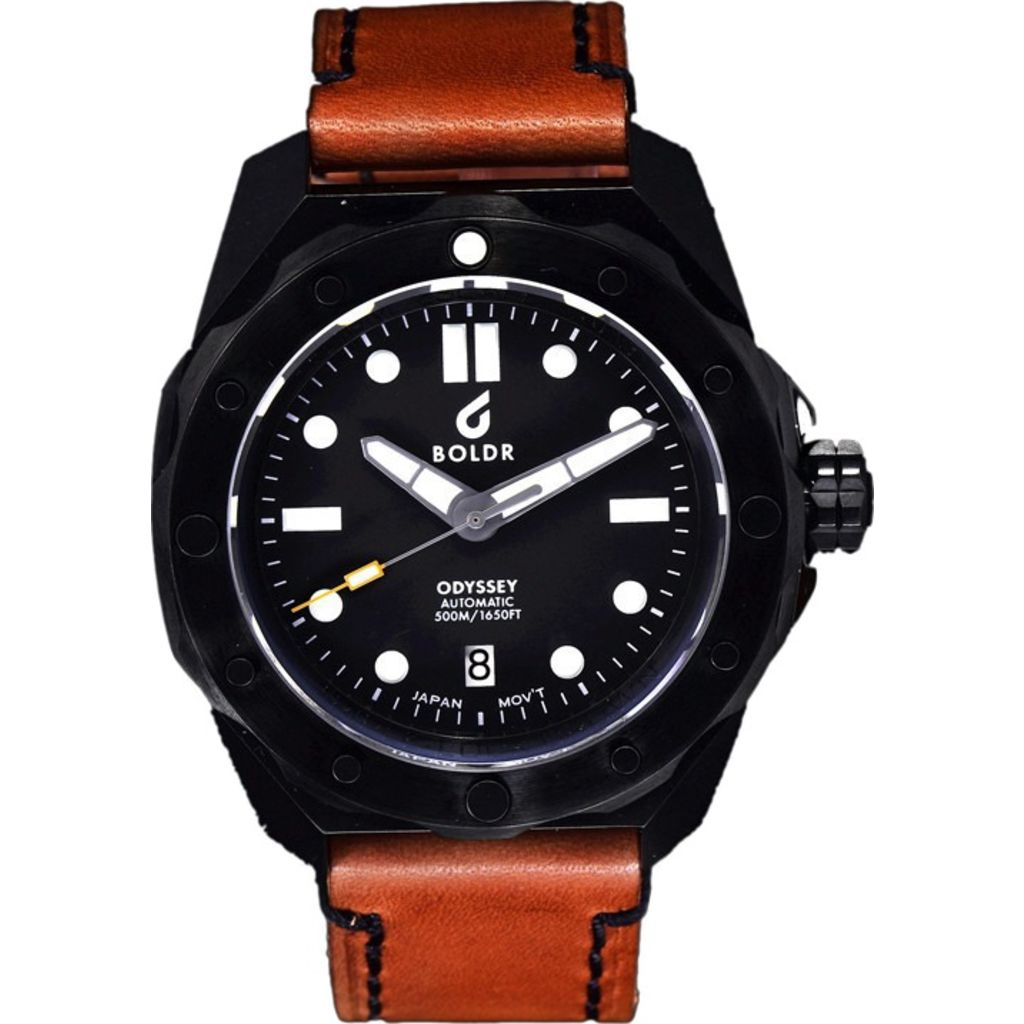 BOLDR Odyssey Automatic Dive Watch | EverBlack