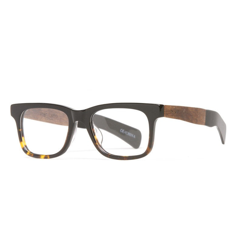 Proof Capitol Eco Rx Prescription Glasses | Tortoise Transition Clear Lens