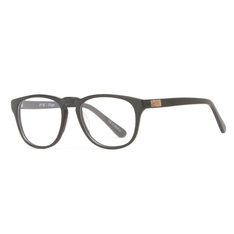 Proof Driggs Eco Rx Prescripton Glasses | Matte Black Clear Lens