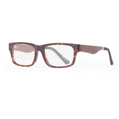 Proof Loom Eco Rx Prescription Glasses | Tortoise Clear Lens