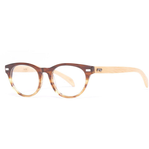 Proof Lunar Eco Rx Prescription Glasses | Caramel Clear Lens