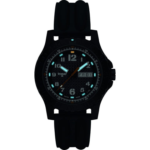 Traser H3 Extreme Sport Carbon Pro Watch | Silicone Strap 100313