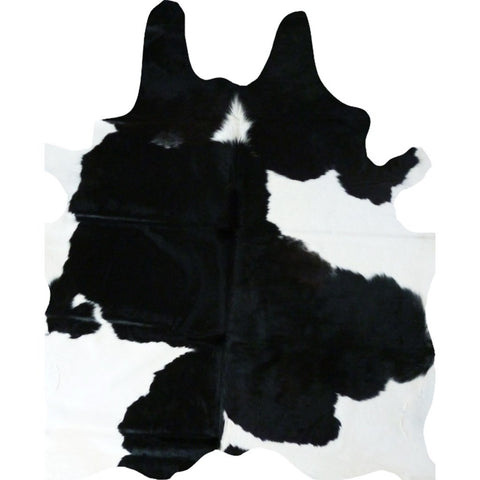 Decohides Cowhide Rug | Black and White F038
