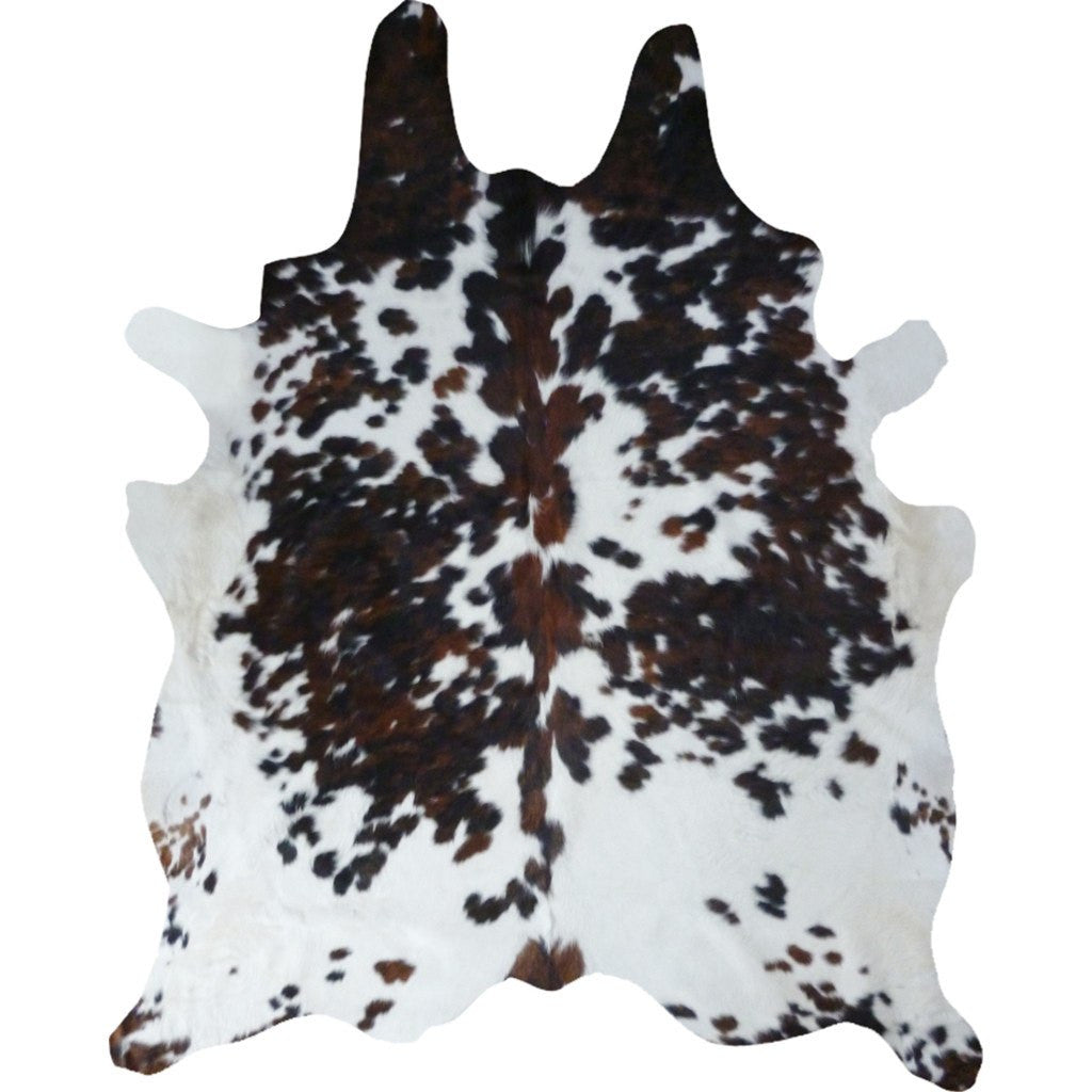 Decohides Cowhide Rug | Salt and Pepper Tricolor F083