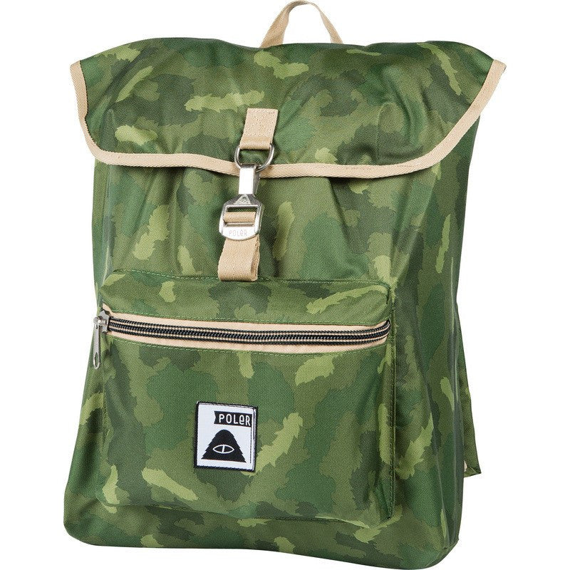 Poler Field Pack Backpack | Green Camo 532004-GCO