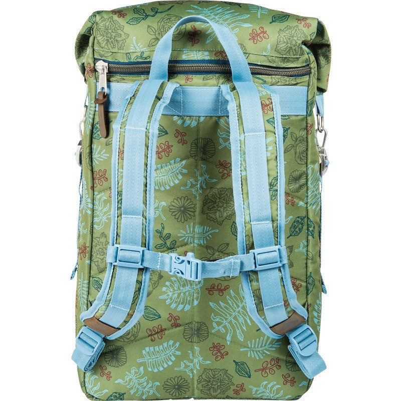 Poler Rolltop 2.0 Backpack | Brotanical Mossy 532007-PBO
