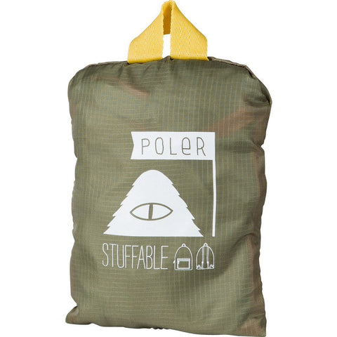 Poler Stuffable Pack Backpack | Mossy/Dandelion 532013-OLV