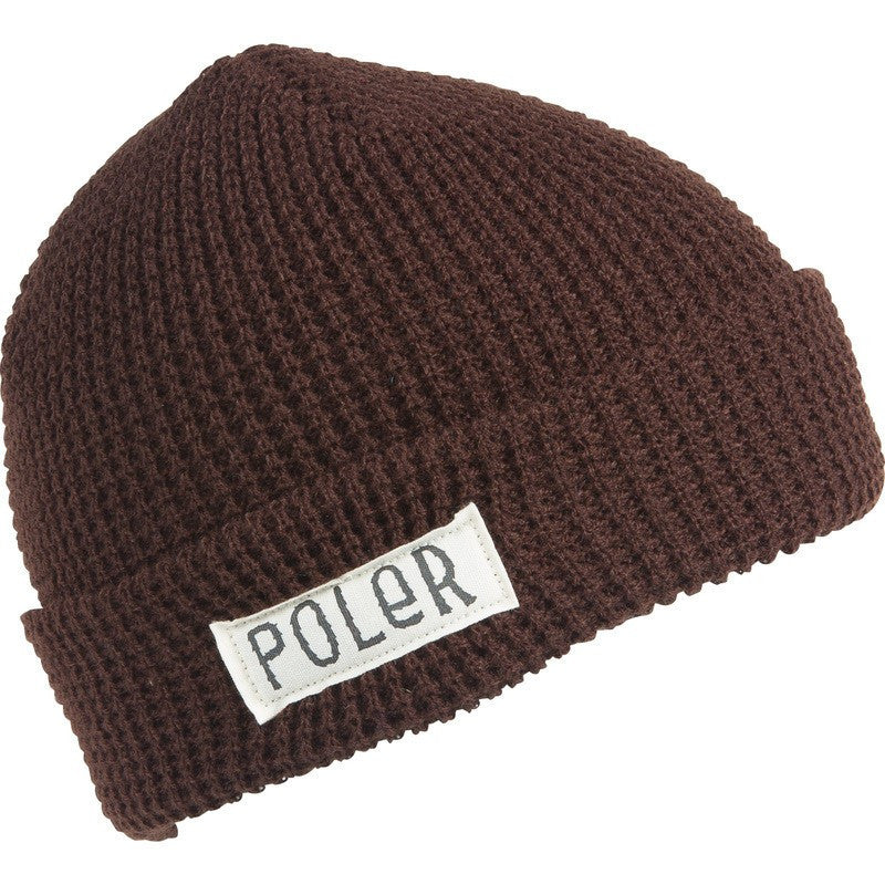 Poler Holiday Workerman Beanie | Chocolate 535006-BRN