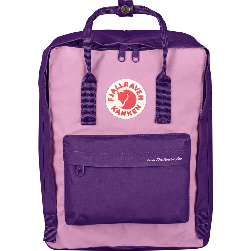 Fjallraven Save the Arctic Fox KŒnken Backpack | Purple/Orchid - F23495