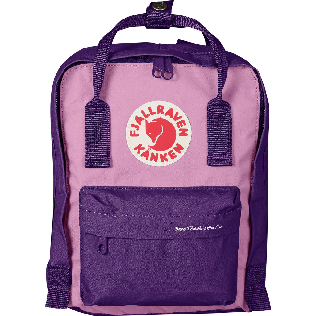 Fjallraven Save the Arctic Fox KŒnken Mini Backpack | Purple/Orchid - F23496