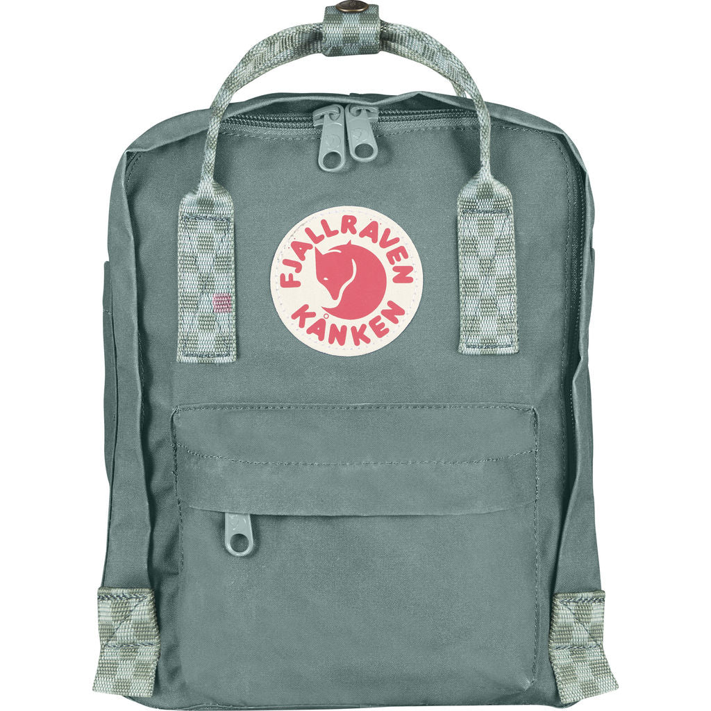 Fjallraven KŒnken Mini Backpack | Frost Green/Chess Pattern - F23561 664-904