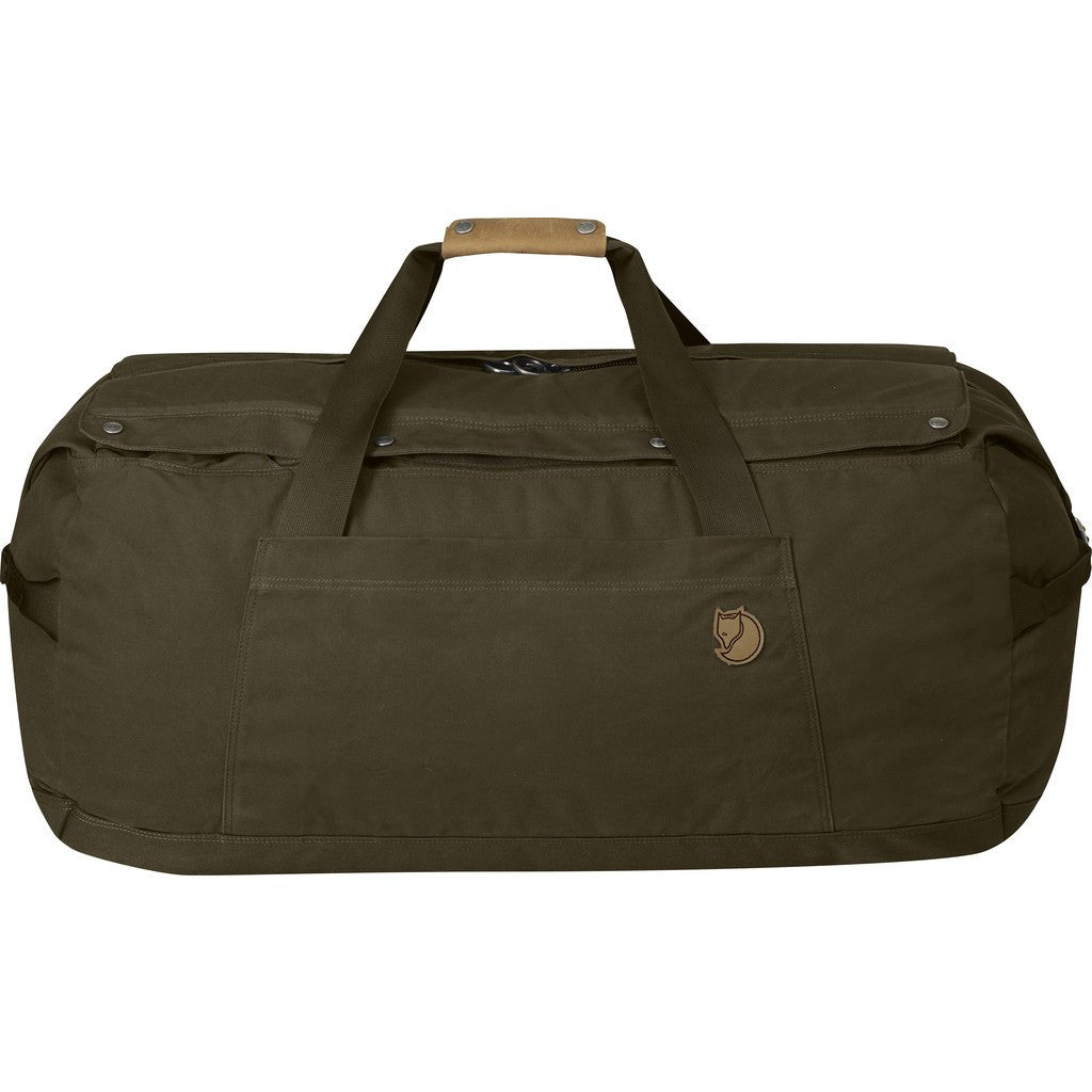 Fjallraven No. 6 Large Duffel Bag | Dark Olive F24242-633