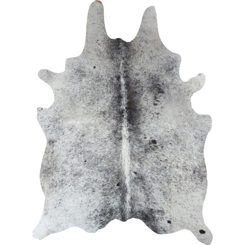 Decohides Cowhide Rug | Salt and Pepper Black and White F254