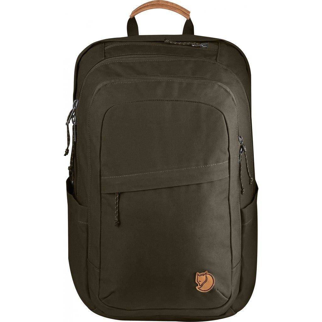 Fjallraven Raven 28L Backpack | Dark Olive F26052-633