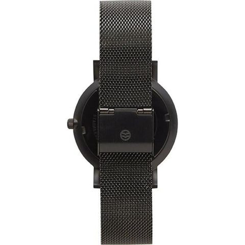 Shore Projects Falmouth Watch with Mesh Strap | Black/Grey