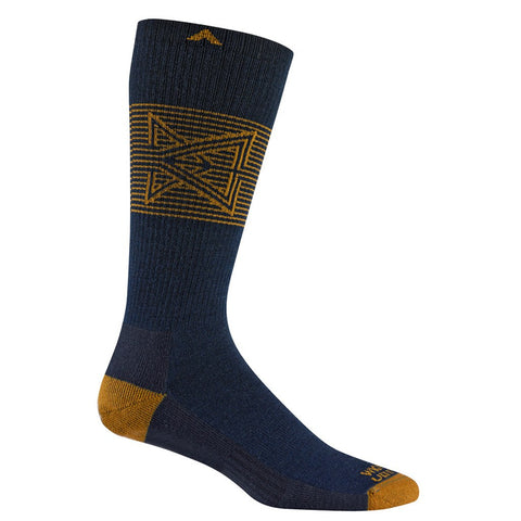 Wigwam Broken Arrow Pro Socks | Navy Extra Large F6161 586XL