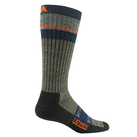 Wigwam Pikes Peak Pro Socks | Olive Heather Large F6169  87DLG