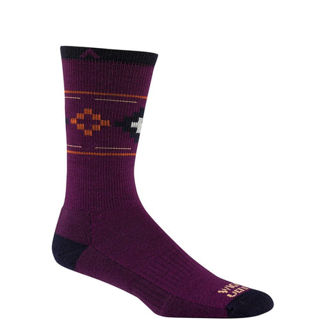 Wigwam Copper Canyon Pro Socks | Deep Plum Medium F6179 521MD