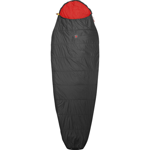 Fjallraven FunŠs Lite Regular Sleeping Bag | Dark Grey F62715