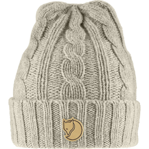 Fjallraven Braided Knit Hat | Chalk White - F77377 113