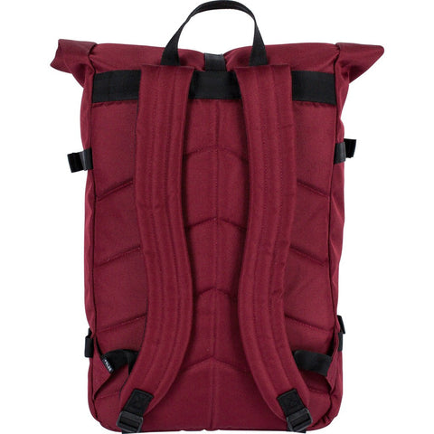 Poler Retro Rolltop Backpack | Burgundy 532021-BUR