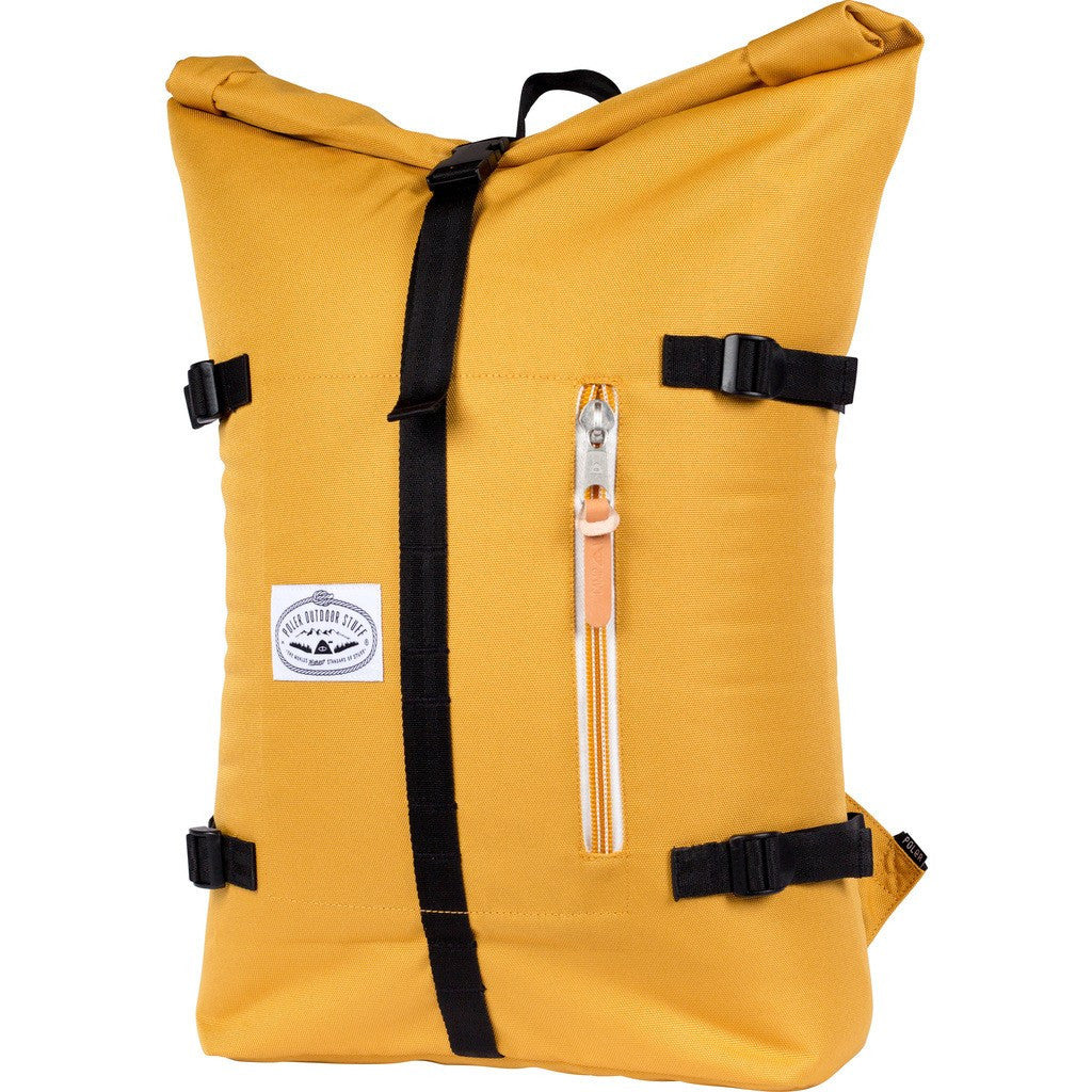 Poler Retro Rolltop Backpack | Mustard 532021-MUS