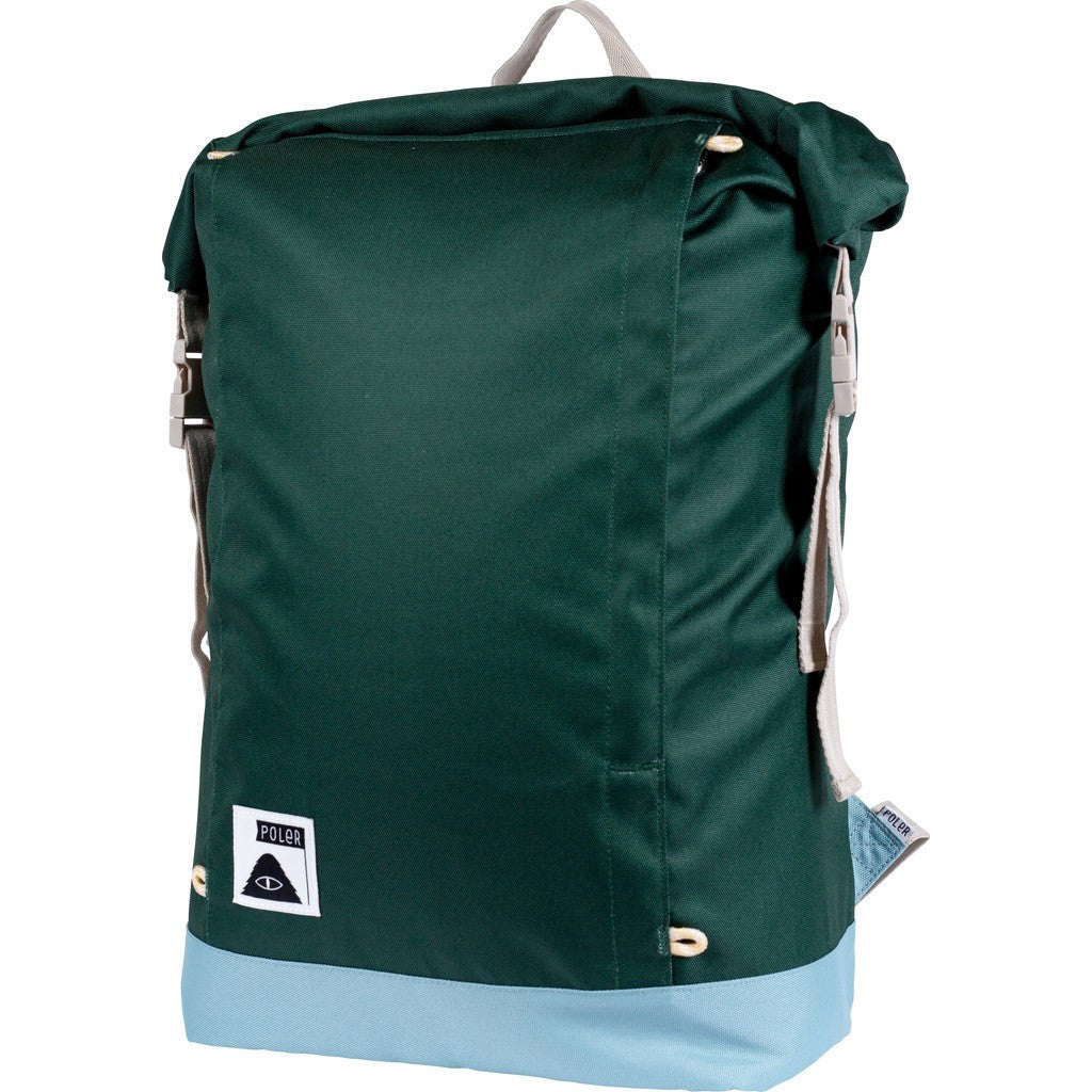 Poler Rolltop Backpack | Dark Green 612018-DKG