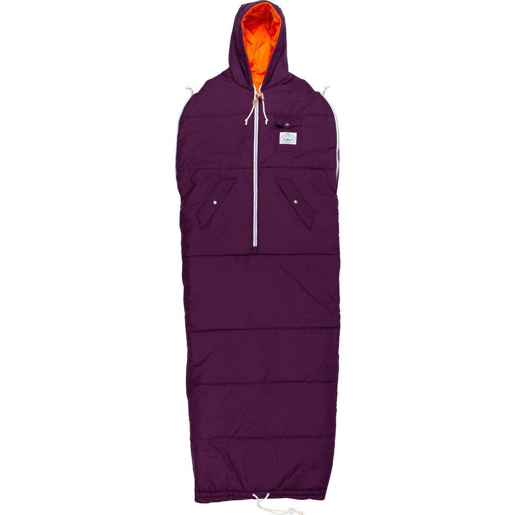 Poler Napsack Wearable Sleeping Bag | Plum 614017-PLM SM / MD / LG / XL