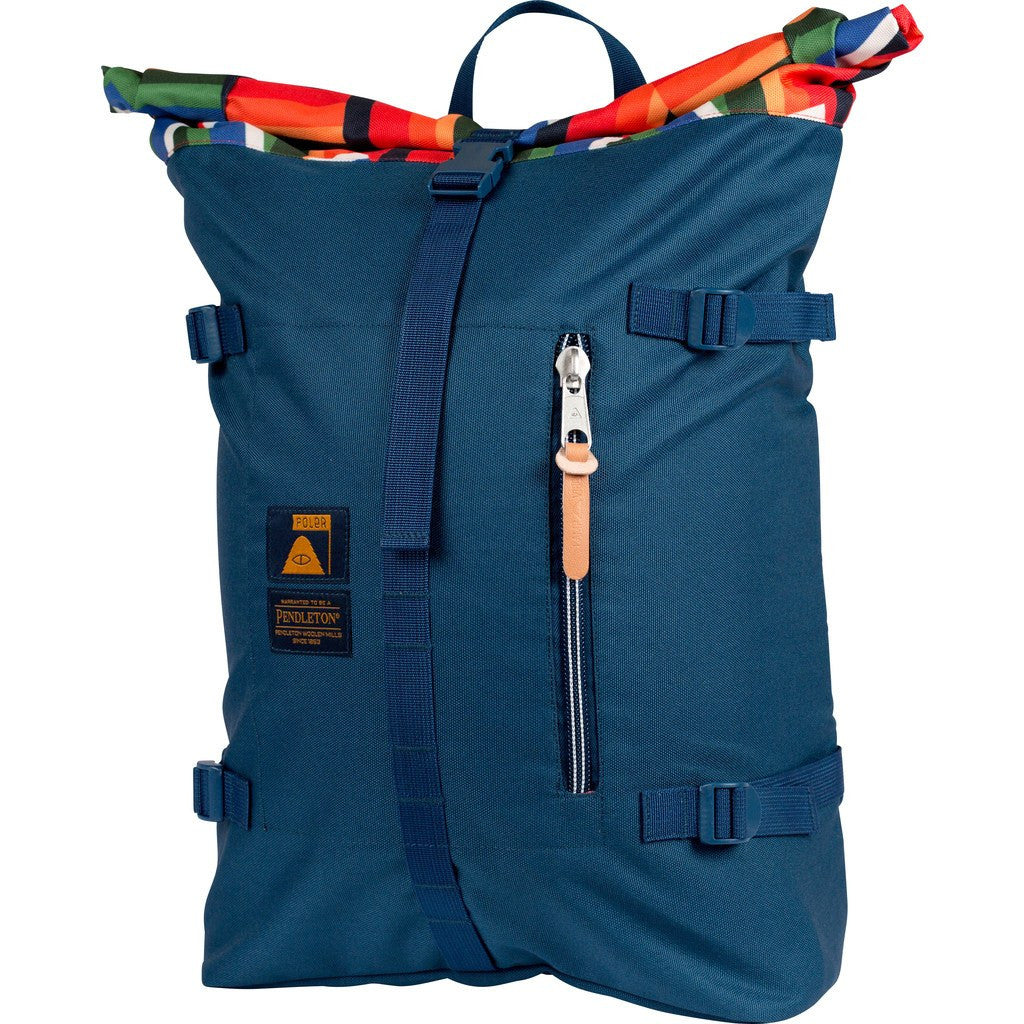 Poler Roll Top Backpack | Crater Lake 632061-MLT-OS