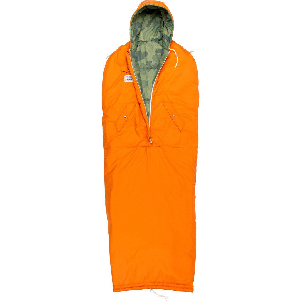 Poler Reversible Napsack Wearable Sleeping Bag | Furry Camo 634021-FCO SM / MD / LG / XL
