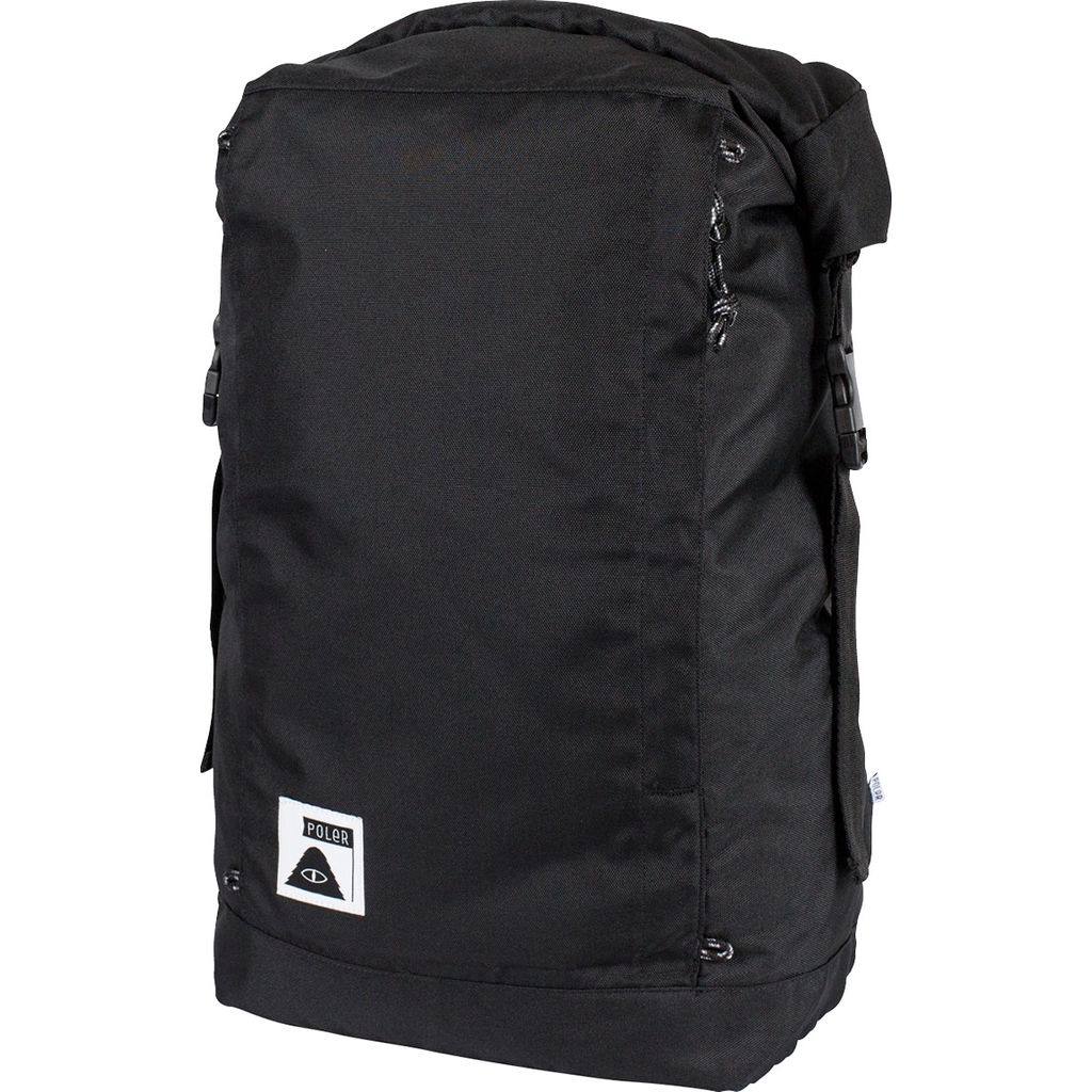Poler Rolltop Backpack | All Black 13100003-BLK