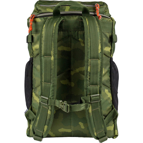 Poler Rucksack 3.0 Backpack | Green Furry Camo 13100004-GCO