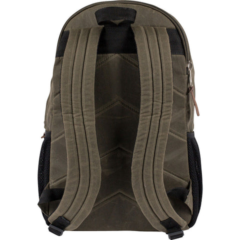 Poler Classic Excursion Pack Backpack | Waxed Burnt Olive 13100016