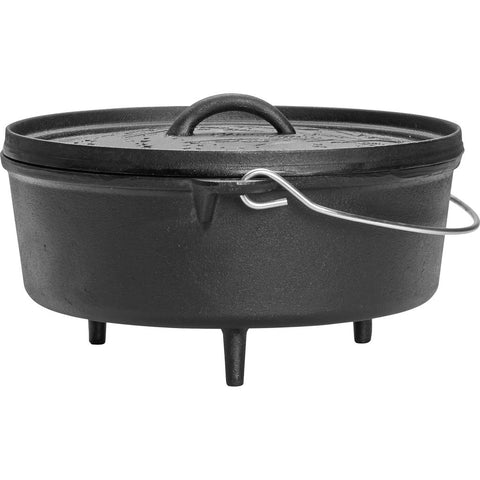 Poler Cast Iron Dutch Oven | Black 43900001-BLK