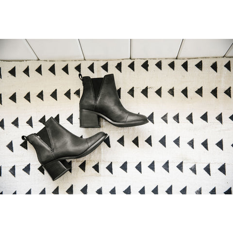 TOMS ESME BOOTS 10012467 | BLACK LEATHER