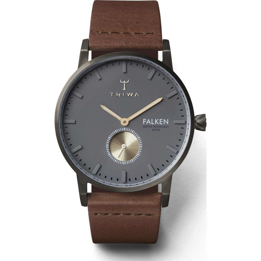 Triwa Walter Falken Watch | Brown Classic FAST102CL010213