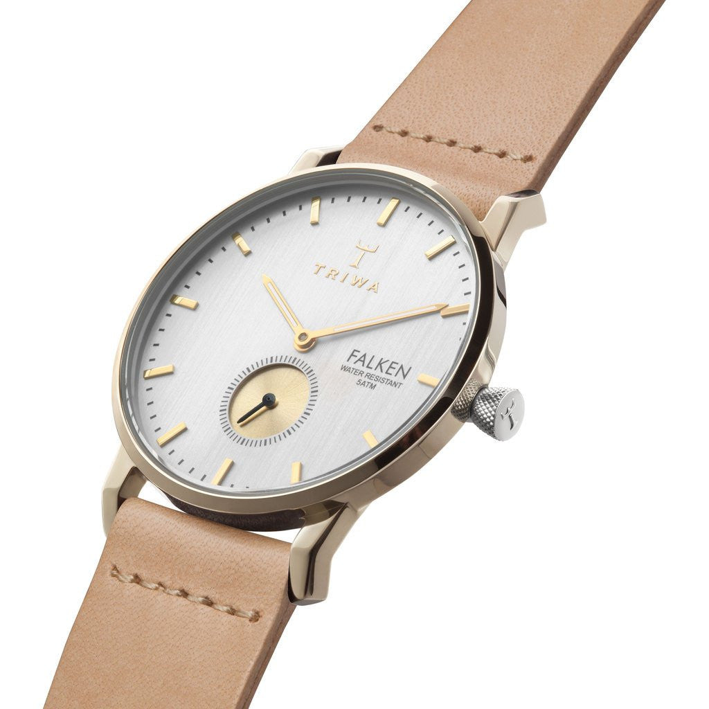 Triwa Birch Falken Watch | Tan Classic FAST105-CL010617
