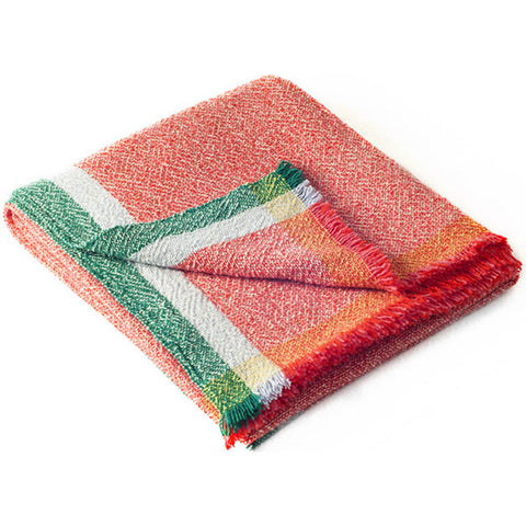 Zuzunaga Feeling Throw Blanket | Merino Wool