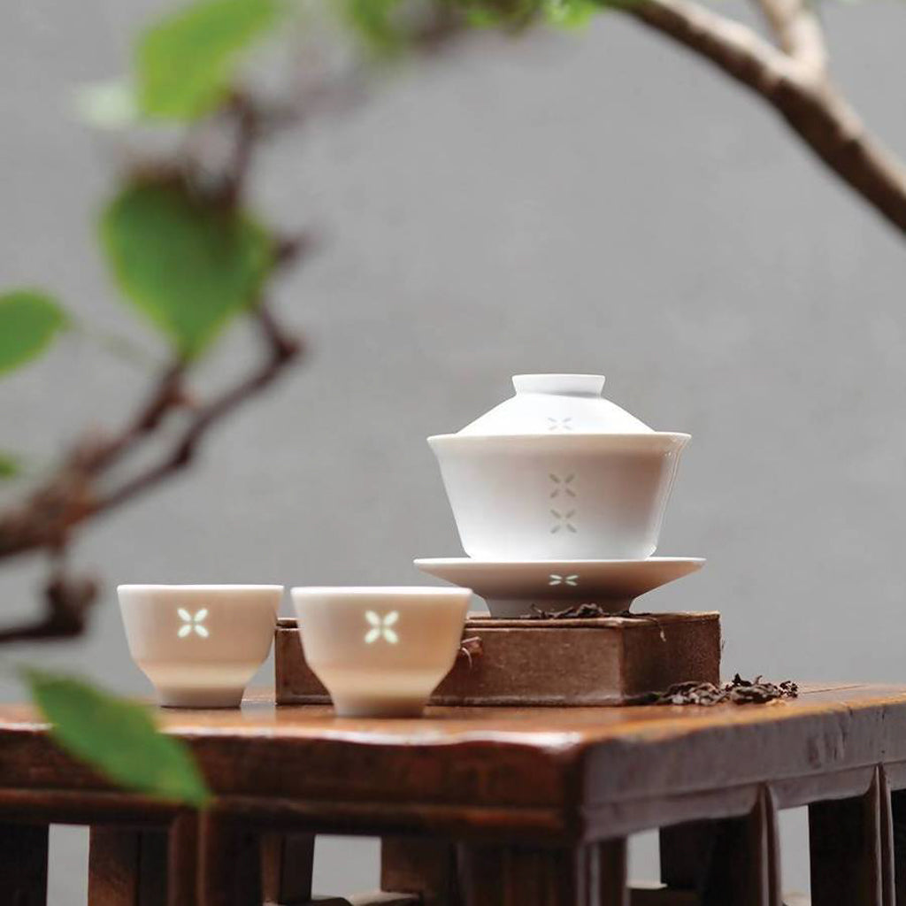 JIA Inc Rice Tea Set | Porcelain