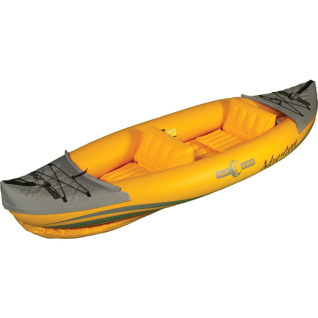 Advanced Elements Friday Harbor - Adventure Kayak | Yellow/Gray FH202-Y