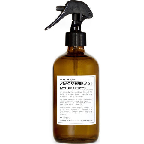 Fig+Yarrow Atmosphere Mist | Lavender+Thyme 8 oz Aml8