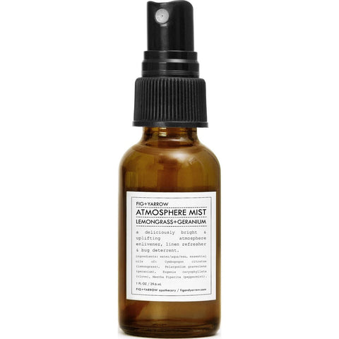 Fig+Yarrow Atmosphere Mist | Lemongrass+Geranium 1 oz AMLG1