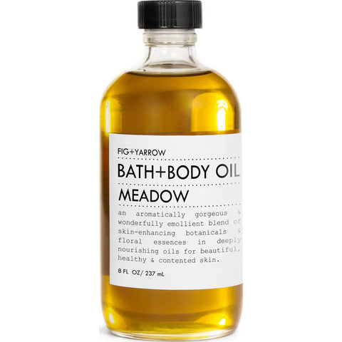 Fig+Yarrow Bath+Body Oil | Meadow 8 oz