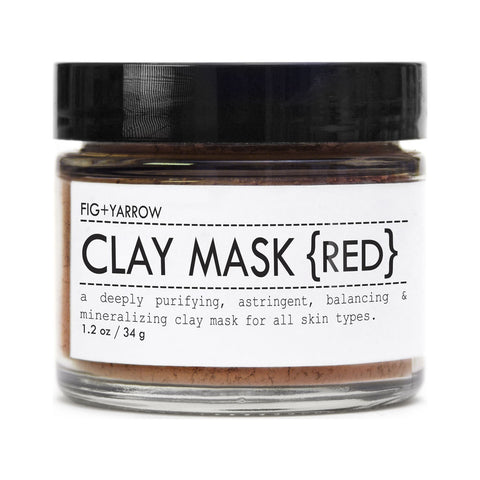 Fig + Yarrow Clay Mask | Green 1.2 oz