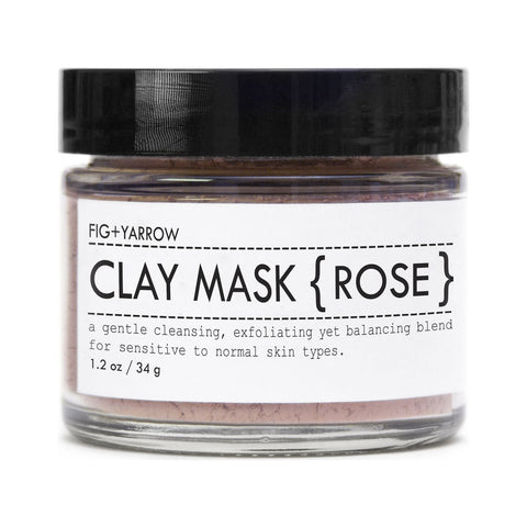 Fig+Yarrow Clay Mask | Rose 1.2 oz