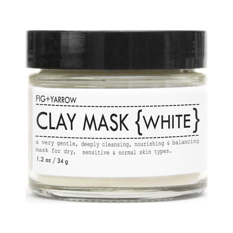 Fig+Yarrow Clay Masks | White 1.2 oz