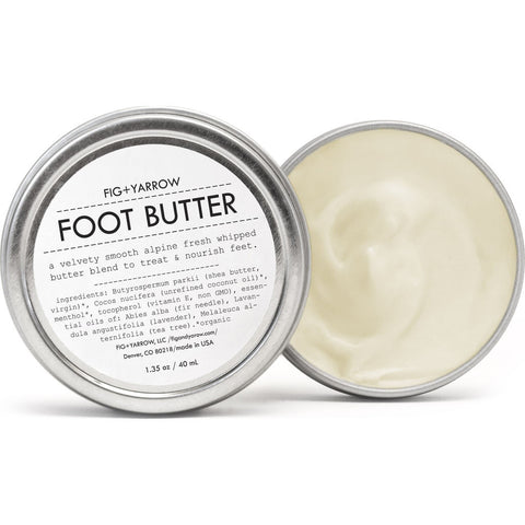 Fig + Yarrow Alpine Foot Butter | 1.35 oz- AFB135